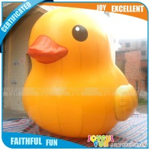 Chinese supplier inflatable advertising big yellow rubber duck of stuffed animal