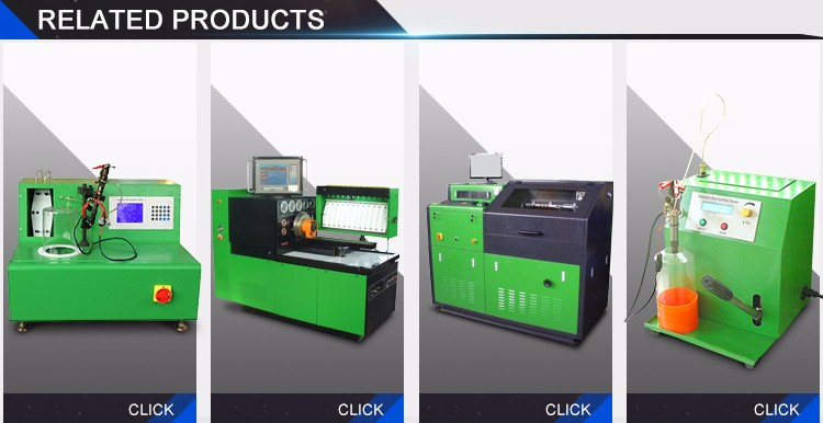 Common Rail Injectors Test Bench