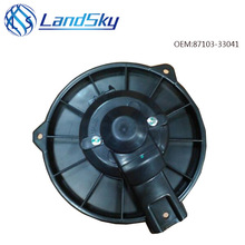 Landsky high quality car air conditioner heater blower motor fan replacement OEM 87103-33041 194000-7153