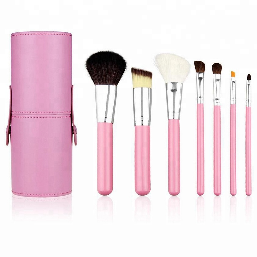 High Quality Synthetic Hair Brush Sets Makeup 7pcs makeup brush kit <strong>beauty</strong> make up