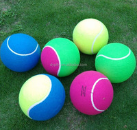 "inflatable large 9.5"" jumbo tennis balls for promotional"