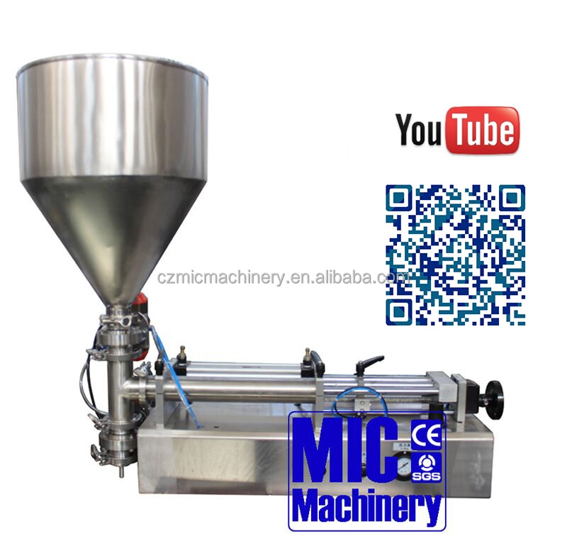 Micmachinery Full manual juice filling machine/semi -auto drink making machine
