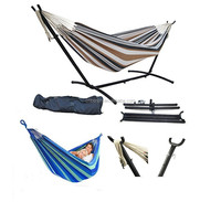 Most Popular High Quality Outdoor Double Hanging Bed for Backyard Porch Indoor Use Two Person Hammock Chair