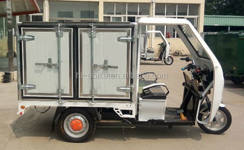 CE approved refrigerated three wheels vehicles/tricycles/motorcycles/cyclomotors for milk floating/seafood deliver 3100007
