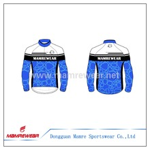 OEM sublimation Windproof and Waterproof cycling Jacket ,latest sublimation jacket