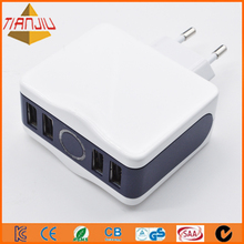 25W multi port USB charger