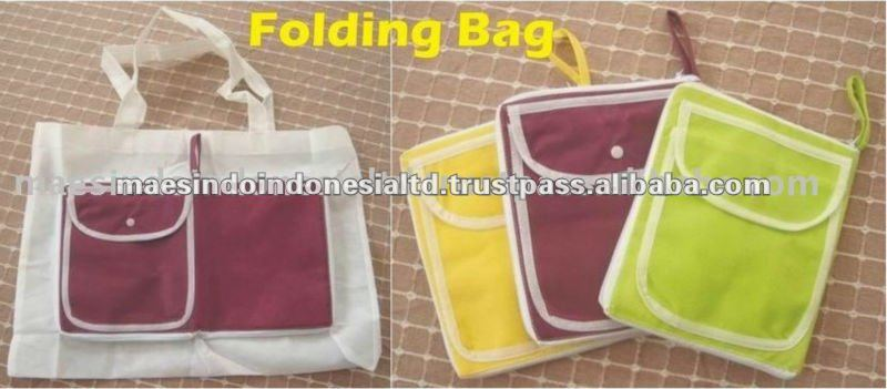 Hot Sale Non Woven Folding Shopping Bag