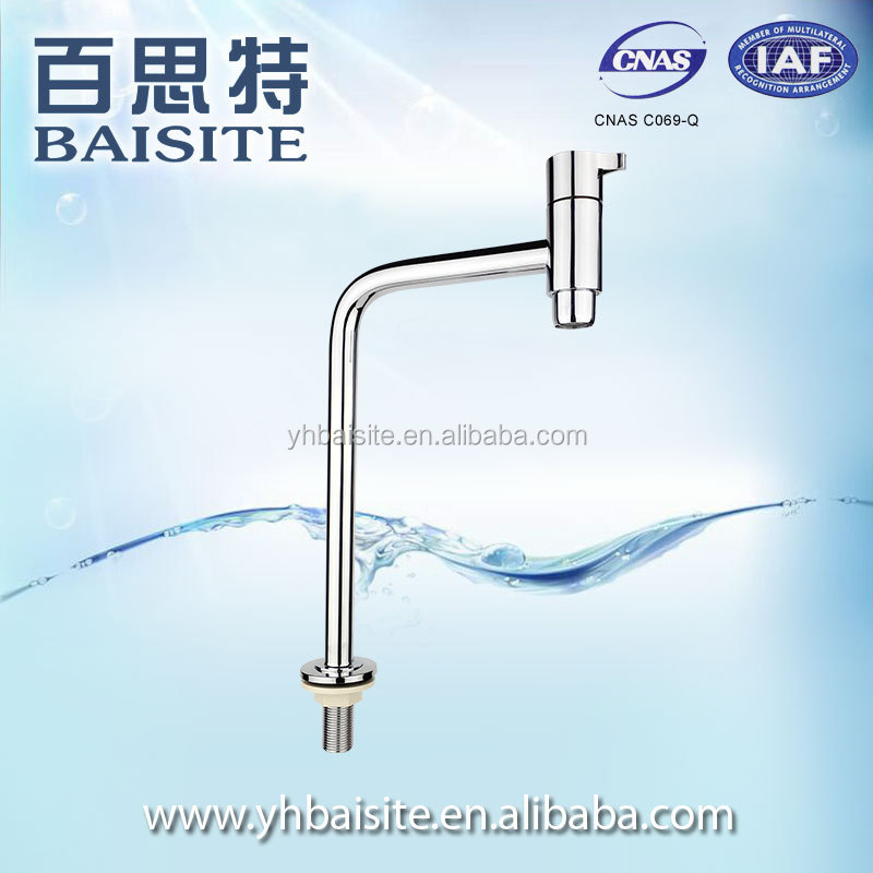 OEM wholesale faucets kitchen single level sink tap single cold basin faucet