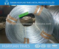 ( factory) electro galvanized steel wire for CHAIN LINK FENCE