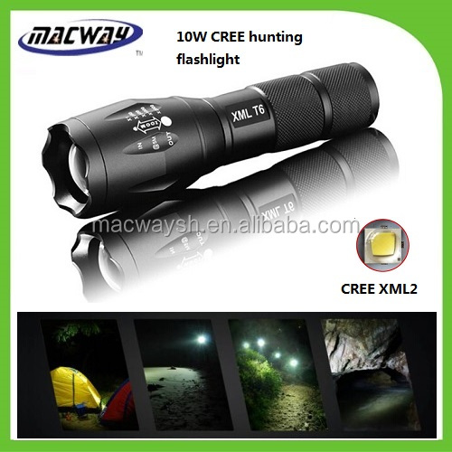 18650 battery high power XM-L T6 telescopic zoom g700 tactical LED flashlight