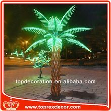 Government project palm tree wedding decorations