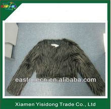 Faux Fur ladys clothing,Faux fur gilet,women mink fur coat