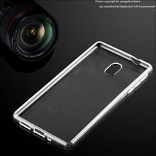 Ultra Thin Clear Soft TPU Phone Case Back Cover For Nokia 3, For Nokia 3 Ultra Slim Case
