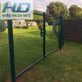Steel Mesh Fence / Triangle Bending Fence / 3d Curved Welded Wire Mesh Panel Fence sports fence with low