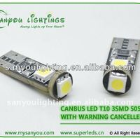 Alibaba China T10 3SMD Canbus Automobile