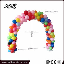 Balloon ring assembled with water bases and cords for balloon column packing 50pcs for 1 opp bag