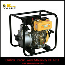 Power Value big displacement 4inch types of diesel engine pump, diesel water pump set for sale