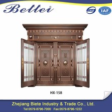 china supplier 3 hour fire rated copper security door