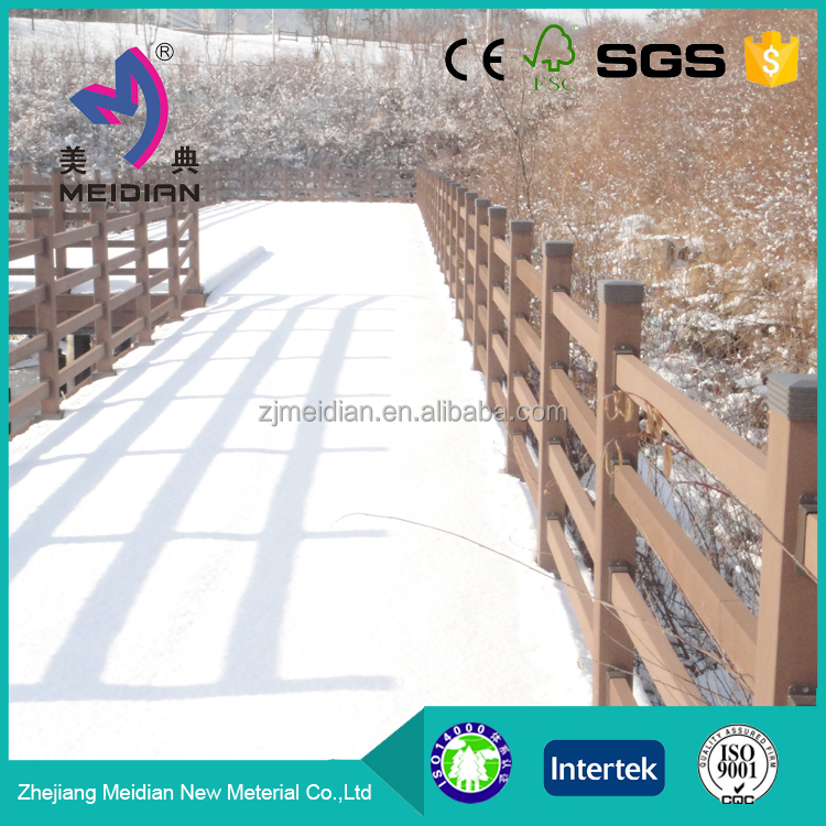 High-end cheap fence wood