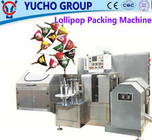 China Big Factory Good Quality Ball Lollipop Packing Machine