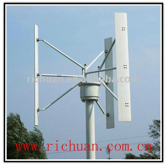 3000 watt vertical wind turbine can supply power for small villages,charging stations, water pumps