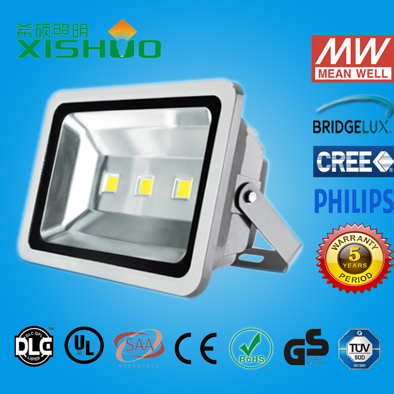 New Factory super slim most powerful solar led flood light ip67 led flood light 150w led flood light CE RoHS GS SAA Listed