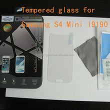 Premium 0.3mm 9H Tempered glass screen protector for Samsung Galaxy S4 Mini I9190 I9192 I9195