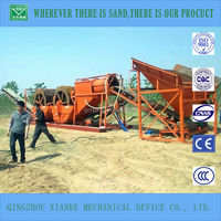 50t/h small silica sand washer machinery prices