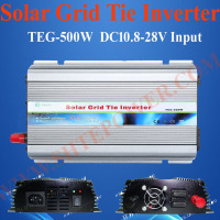 MPPT inverter 12v 220v 500w solar power grid tie micro inverter for 500w solar panels