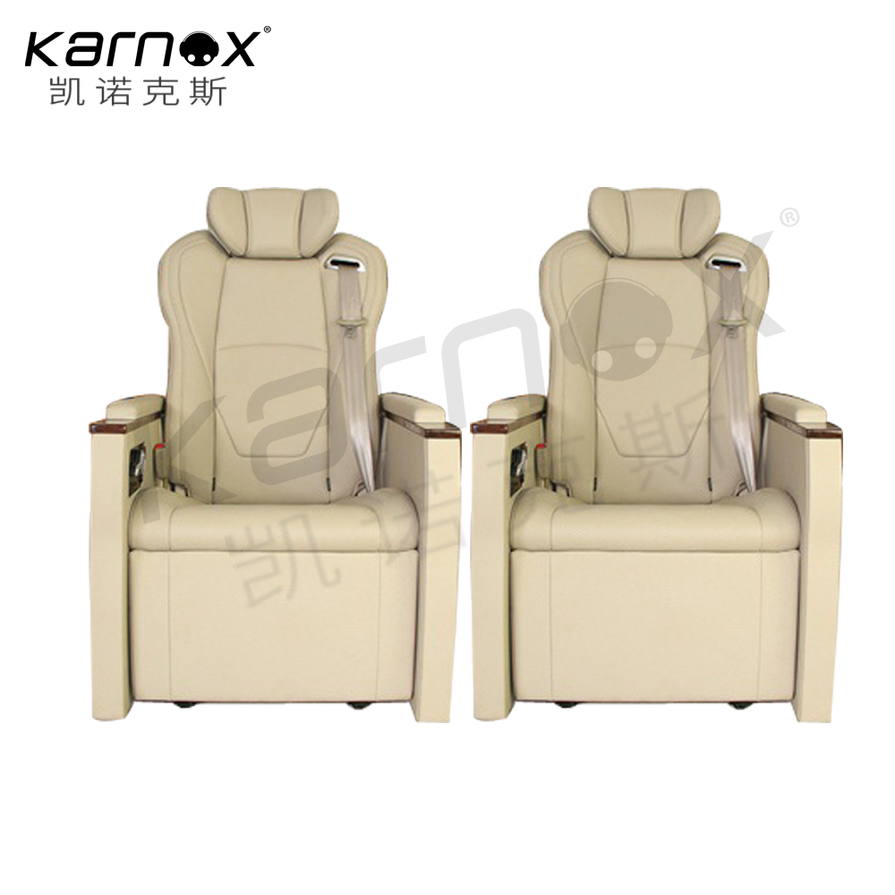Karnox high quality limousine car seat with heating and massage