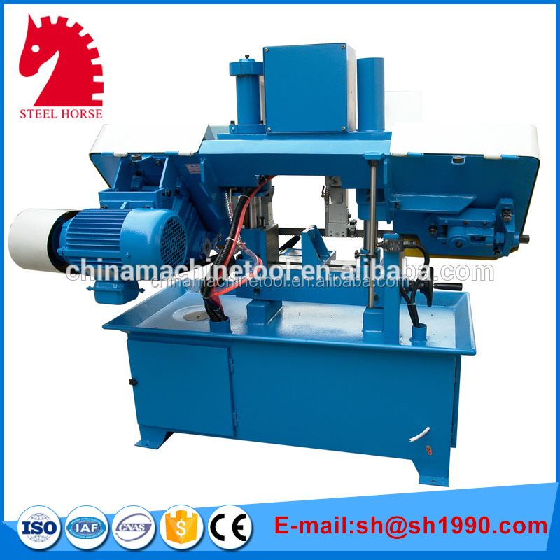 O fácil e barato GH42 metal machine band saw/banda viu máquina de corte na China