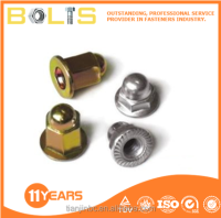 Flange cover type nut