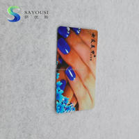 Plastic PVC Card Promotion Nail Advertising