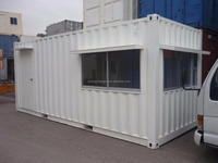 China container office prefabricated house 20'ft container