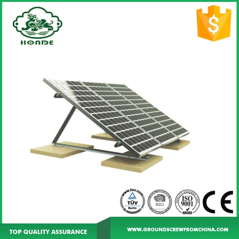 Flat Roof Solar Panel Mounting Brackets