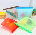 1500ml silicone food preservation bag storage bag zipper bag food