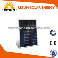 80W poly crystalline solar panel for LED light from Chinese manufacturer