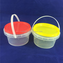 Used for food storage plastic bucket with lid