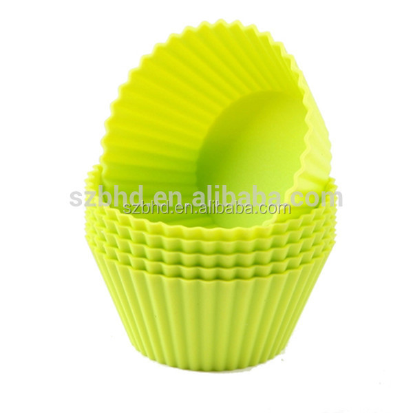 Recycled Cupcake Liners, Mini Loaf Baking Cup, Silicone Cupcake Liners