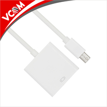 0.15m white male displayport to female mini DP display port to HDMI adapter cable