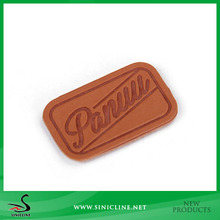 Sinicline Wallet Use Leather Logo Label with Factory Price