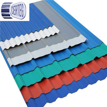 galvanzied 4ft x 8ft sheets corrugated steel roofing sheet color steel roof tile