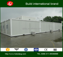 prefab cottages 20ft Solar Green Expandable Container House Assembly type container house on the second floor