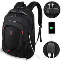wholesale hot sale anti-theft usb custom clear waterproof smart school mochilas anti theft backpack