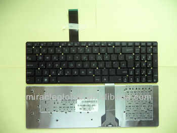 UK notebook keyboard for ASUS K55VK55VM K55VD A55V A55VJ A55VD