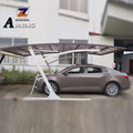 New Promotion high quality modern design sun shade weatherability mobile aluminum carport in China