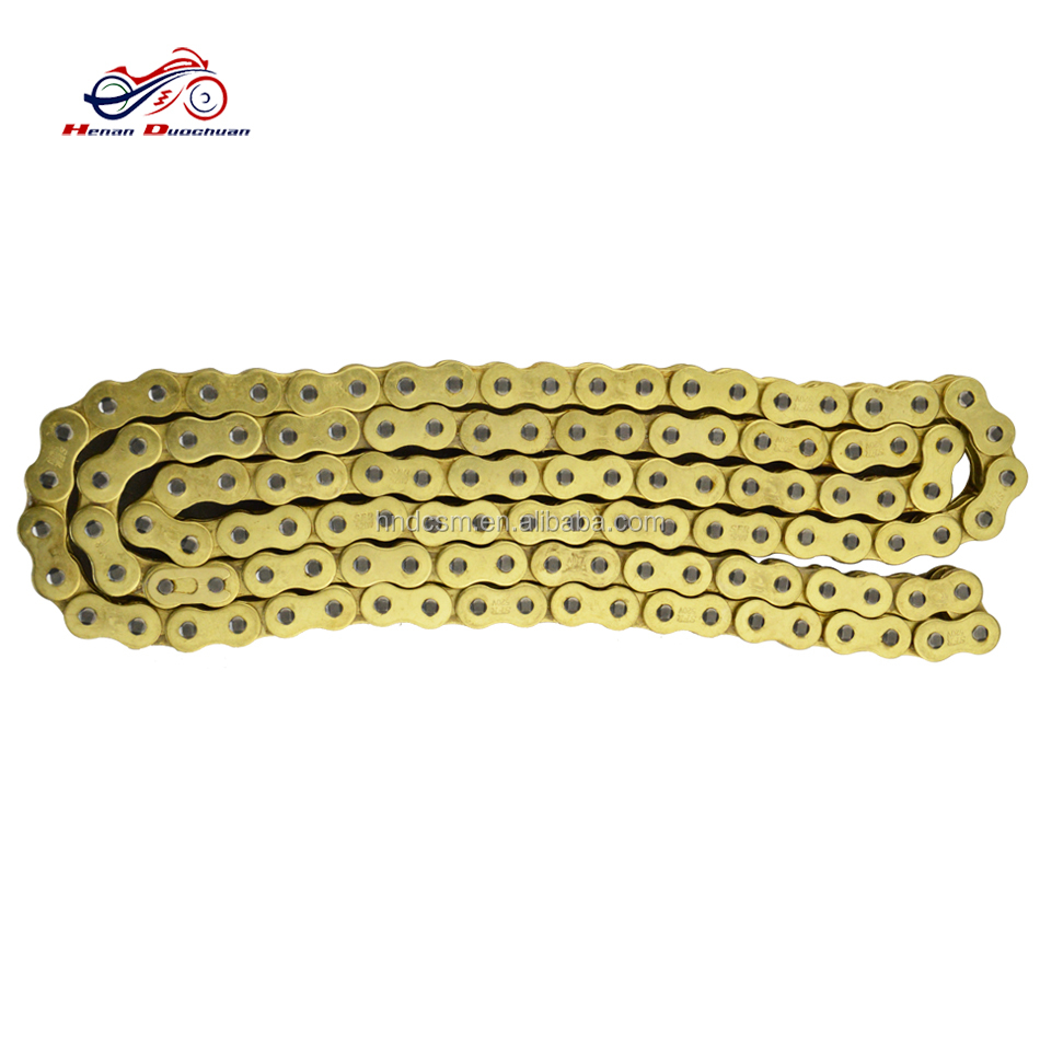 Stainless Steel Motorcycle Driving 520 O-Ring Colored Motorcycle Chain Chain