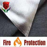 Premium fire resistant acrylic woven fabric with pre-oxidized fiber