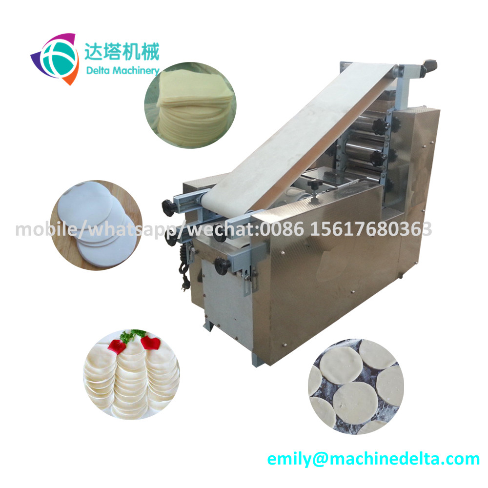 Tortilla flat bread machine/ taco machine/ dumpling wrapper machine