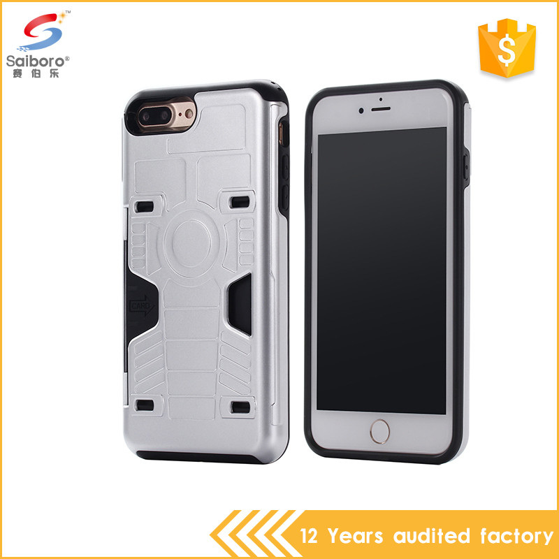 Personalized cheap wholesale tpu pc credit card case cover for iphone